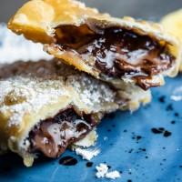 Empanadilla de chocolate y plátano